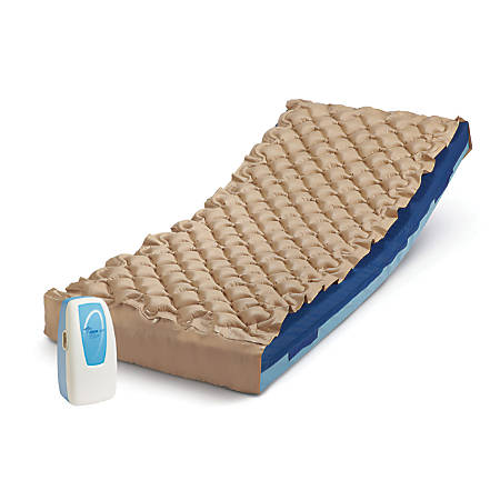 Airone Alternating Pressure Pad System, Blue/Tan