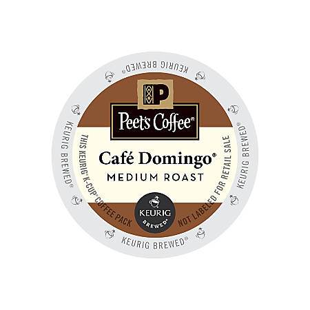 Peet's Cafe Domingo K-Cups®, 3 Oz, Box Of 22