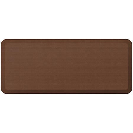 "GelPro NewLife Designer Comfort Grasscloth Anti-Fatigue Floor Mat, 20"" x 48"", Java"