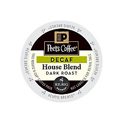Peets Coffee Decaf House Blend Coffee