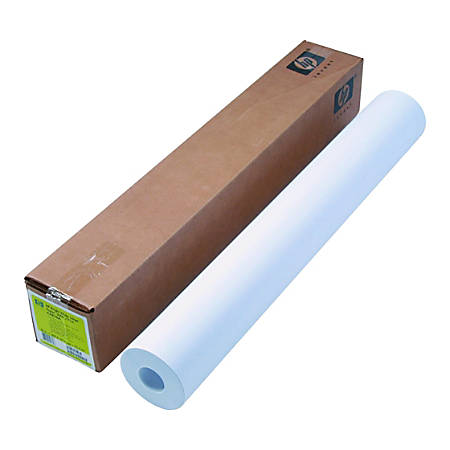 "HP Large-Format Film Roll, 36"" x 300', 4.7 mil, White"