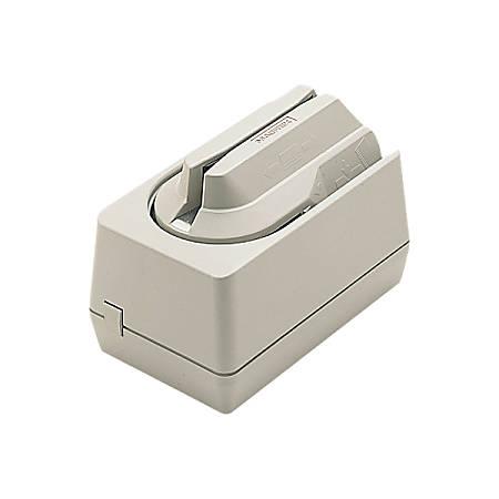 MagTek Magnetic Stripe Reader - Triple Track - Keyboard Wedge - Dark Gray
