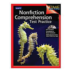 Shell Education Nonfiction Comprehension Test Practice