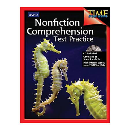 Shell Education Nonfiction Comprehension Test Practice, Grade 2