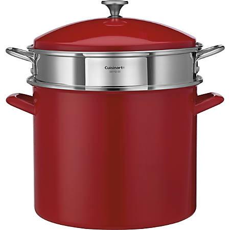 how to use cuisinart steamer insert