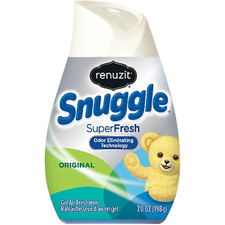 SNUGGLE SuperFresh Original Air Freshener Cone - Solid - 7 fl oz (0.2 quart) - Snuggle SuperFresh Original - 30 Day - 12 / Carton - Non-toxic