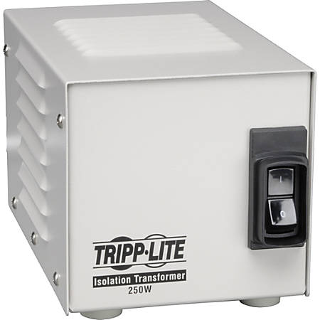 Tripp Lite 250W Isolation Transformer Hospital Medical with Surge 120V 2 Outlet HG TAA GSA - 250W - 120V AC - 120V AC