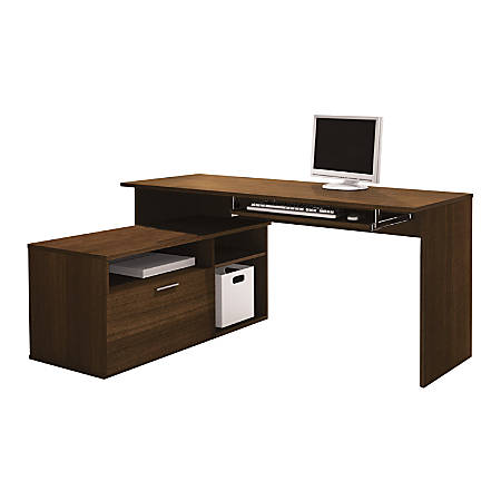 Bestar Modula Compact L Shaped Desk