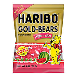 Haribo Watermelon Gold Bears 4 Oz