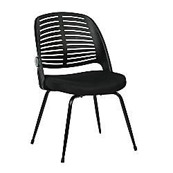 Ave Six Tyler Visitor Chair Black