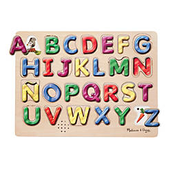 Melissa Doug Spanish Alphabet Sound Puzzle