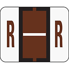 Smead BCCR Bar Style Permanent Alphabetical