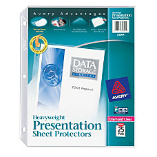 Avery Heavyweight Top Load Sheet Protectors