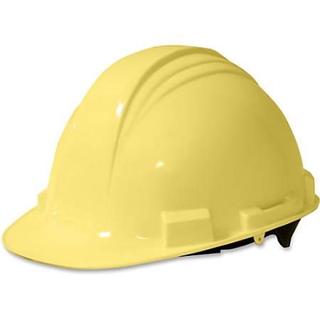 NORTH Peak A59 HDPE Shell Adjustable Hard Hat, Yellow