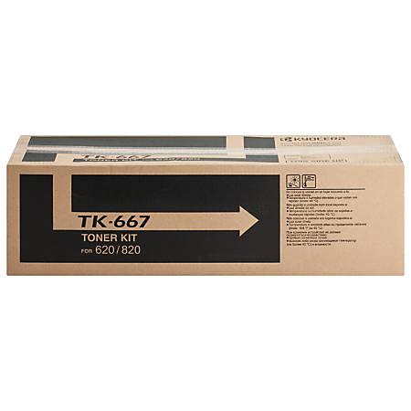 Kyocera TK 667 - Black - original - toner cartridge - for TASKalfa 620, 820