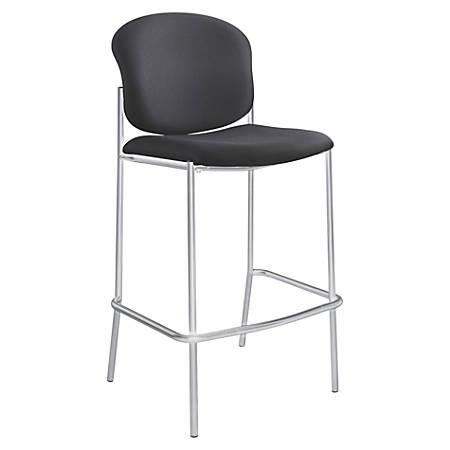 Safco® Diaz Bistro Chair, Black