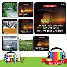 American Nonfiction Audiobook 8 Title Collection