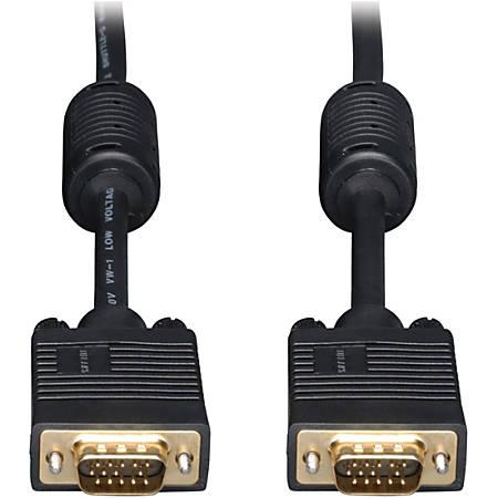 Tripp Lite 15ft SVGA / VGA Coax Monitor Cable with RGB High Resolution HD15 M/M 15' - (HD15 M/M) 15-ft.