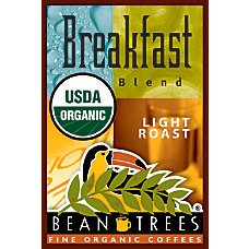 Beantrees Organic Breakfast Blend Whole Bean