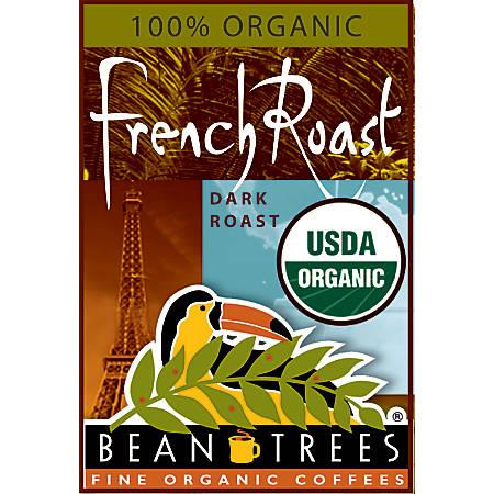 Beantrees Organic French Roast Ground Coffee, 12oz