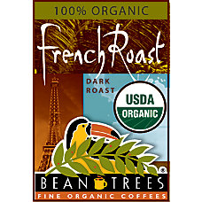 Beantrees Organic French Roast Ground Coffee