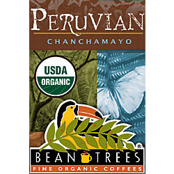 Beantrees Organic Peruvian Chanchamayo Whole Bean