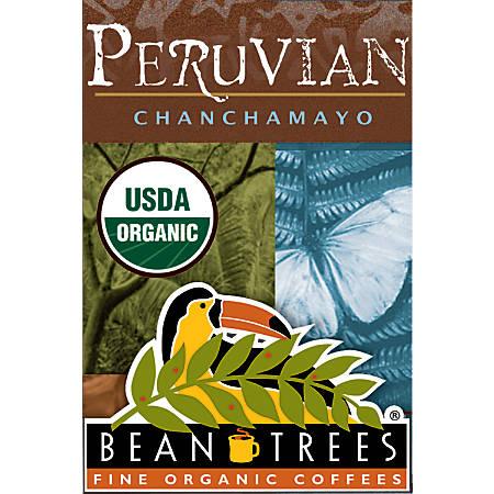 Beantrees Organic Peruvian Chanchamayo Whole Bean Coffee, 12 Oz
