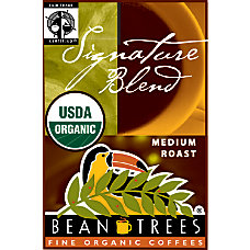 Beantrees Organic Signature Blend Whole Bean