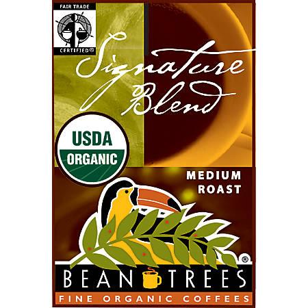 Beantrees Organic Signature Blend Ground Coffee, 12oz