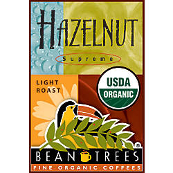 Beantrees Organic Hazelnut Whole Bean Coffee