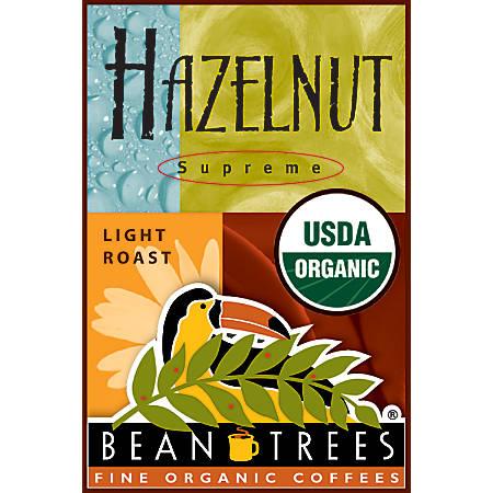 Beantrees Organic Hazelnut Whole Bean Coffee, 12 Oz