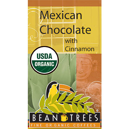 Beantrees Organic Mexican Chocolate Whole Bean Coffee, 12 Oz