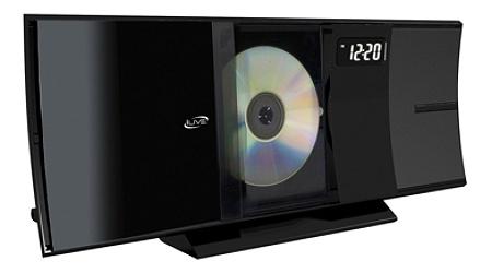 iLive IHB603B Micro Hi-Fi Bluetooth® CD Stereo System With FM Radio, Black  Item # 1485704