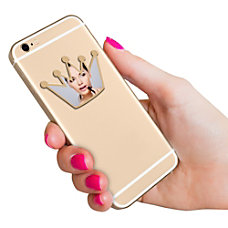 Digital Energy World Smartphone Mirror Gold