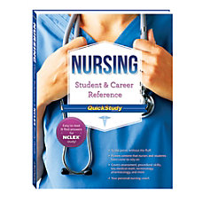 QuickStudy Nursing Student Career Reference Book