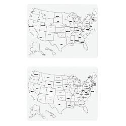 Creativity Street 2 Sided US Map
