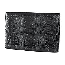 Francine Collections 7 Black Snake Skin