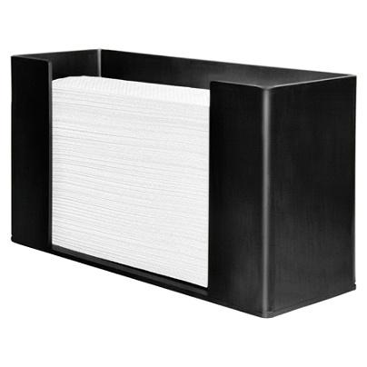 genuine joe paper towel dispenser black by office depot officemax - Paper Towel Dispenser