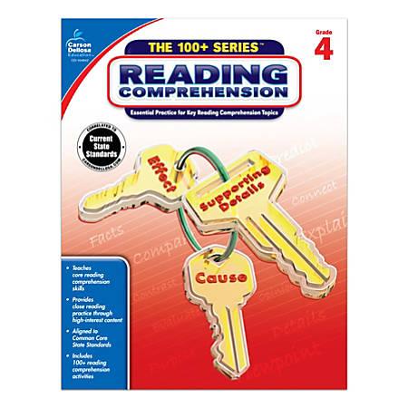 Carson-Dellosa™ 100+ Series™ Reading Comprehension Workbooks, Grade 4