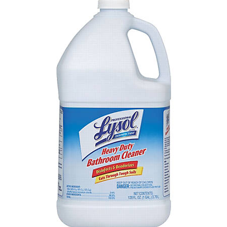 Lysol® Professional Disinfectant Heavy Duty Bathroom Cleaner Concentrate, 1 Gallon
