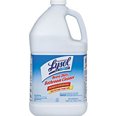 Lysol Professional Disinfectant Heavy Duty Bathroom