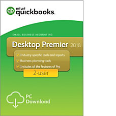 QuickBooks Desktop Premier 2018 For 2