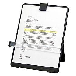 Fellowes Nonmagnetic Desktop Copyholder Platinum