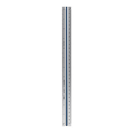 Helix Professional Engineer's Aluminum Triangular Scale 12