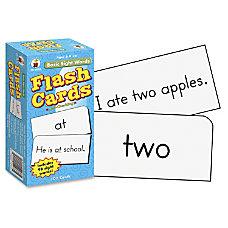 Carson Dellosa Flash Cards Basic Sight