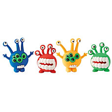 Office Depot Brand Alien Erasers Assorted