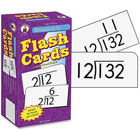Carson-Dellosa Flash Cards — Division 0-12
