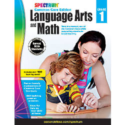 Spectrum Language Arts And Math Book