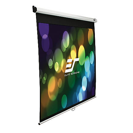 Elite Screens M106UWH Manual Pull Down Projector Screen