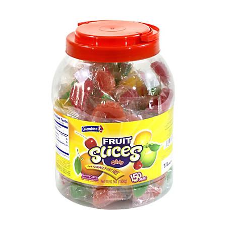Colombina Fruit Slices, Assorted Flavors, 5-Lb Jar